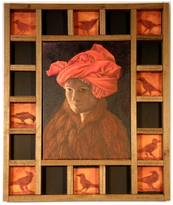 Self-Portrait in a Red Turban